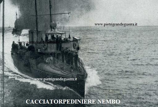 Cacciatorpediniere Nembo sito1