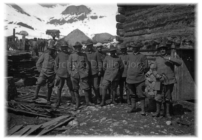 Fuchiade-Ufficiali 7 Alpini Val Cordevole- 1916