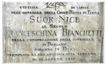 Bianchetti suor Nice lap.Parma