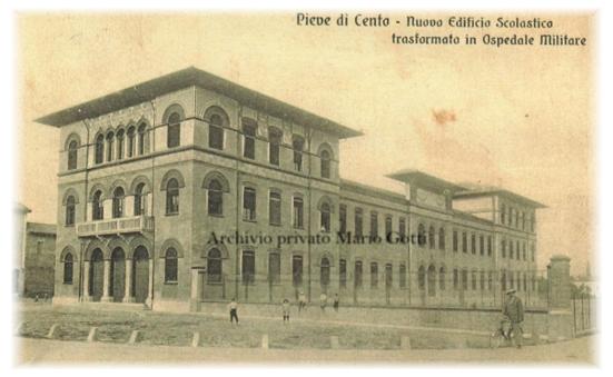 Ospedale militare Pieve di Cento sito